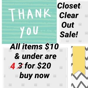Accessories - Now 4 for $20